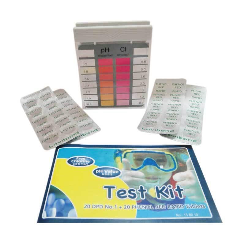 Lovibond 3 Chamber CL - pH Tester Kit