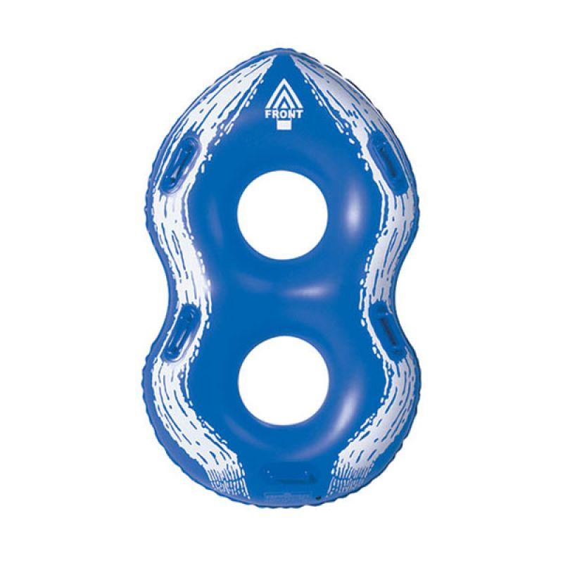 Zebec Double Tube  Pelampung (Blue)