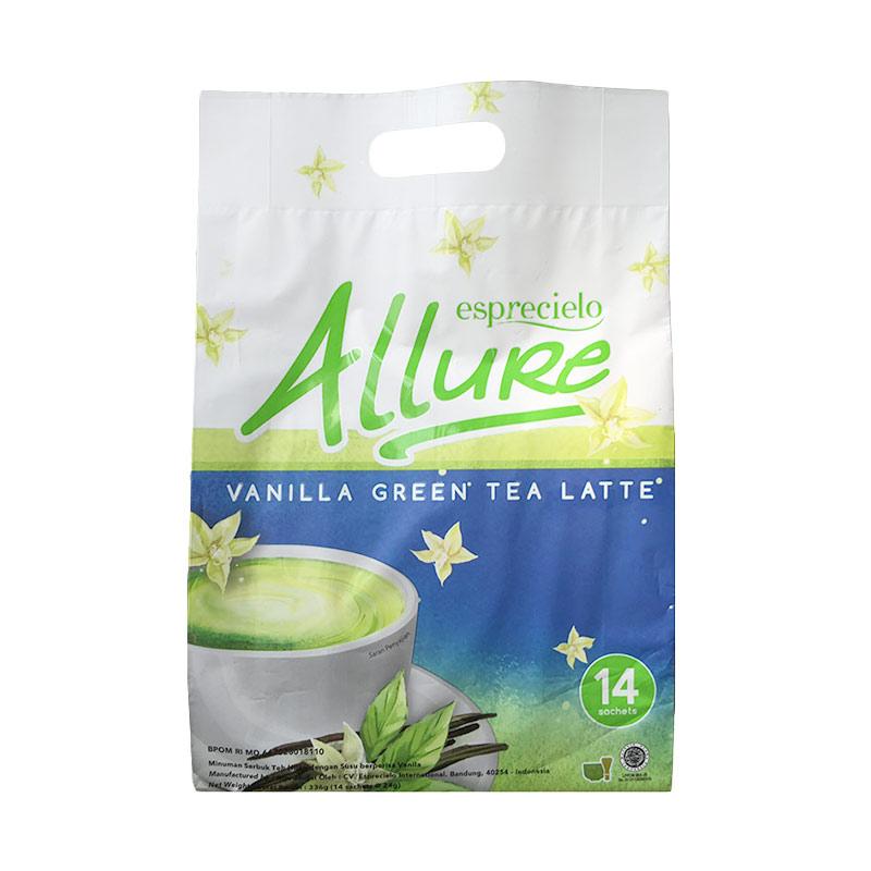 harga Esprecielo Allure Vanilla Green Tea Latte - 14 sachet Blibli.com