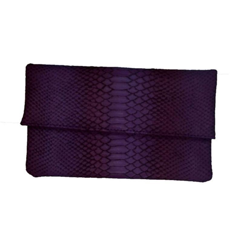 Espro Snake Ungu Clutch Bag