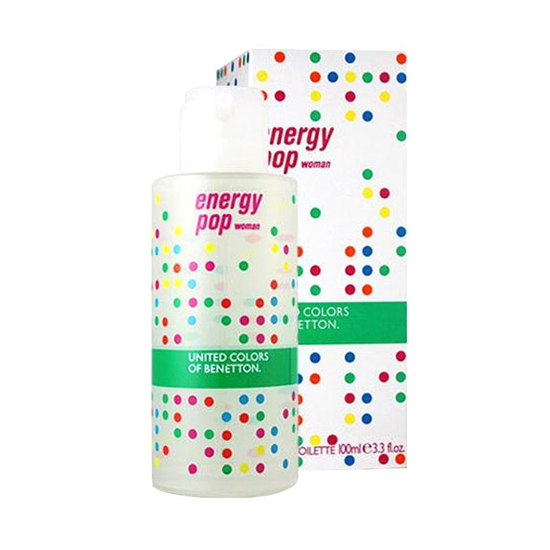 Benetton Energy Pop EDT Parfum Wanita [100 mL]