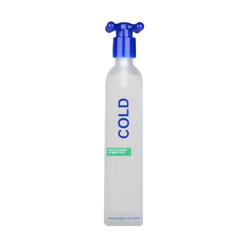 Benneton Cold EDT Parfum Pria [100 mL]