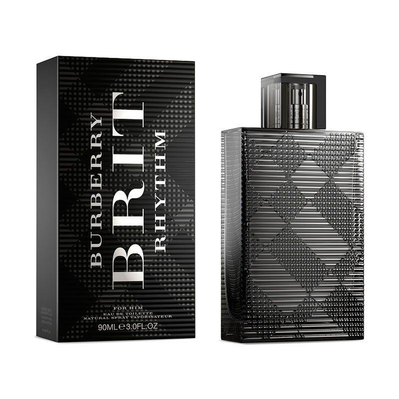 Burberry Brit Rhytm for Men EDT Parfum Pria [90 mL]  Tester
