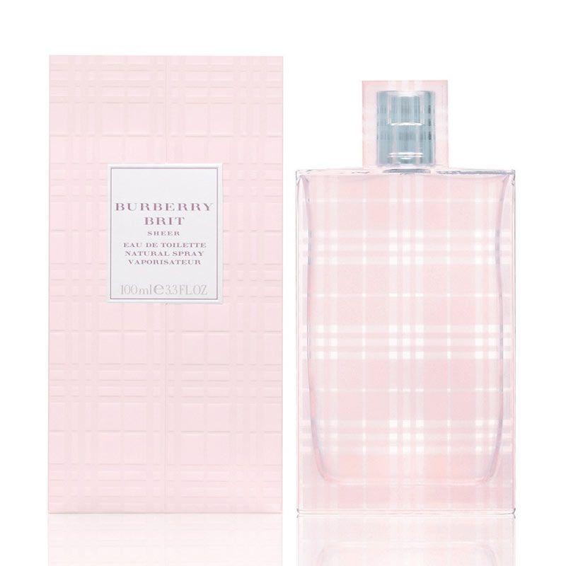 Burberry Brit Sheer EDT Parfum Wanita [100 mL]