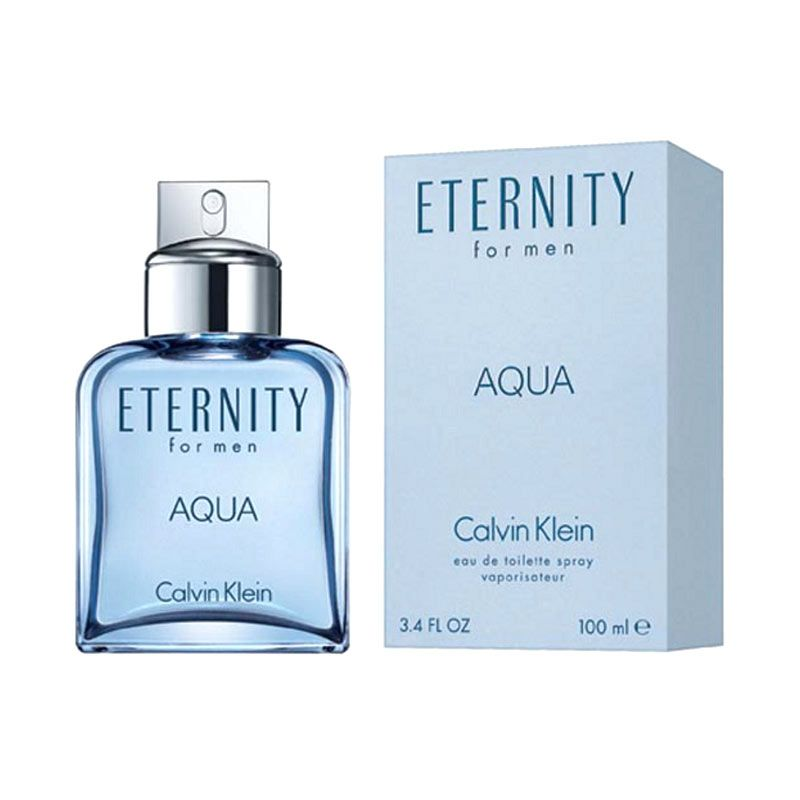 Calvin Klein Eternity Aqua for Men EDT Parfum Pria [100 mL]