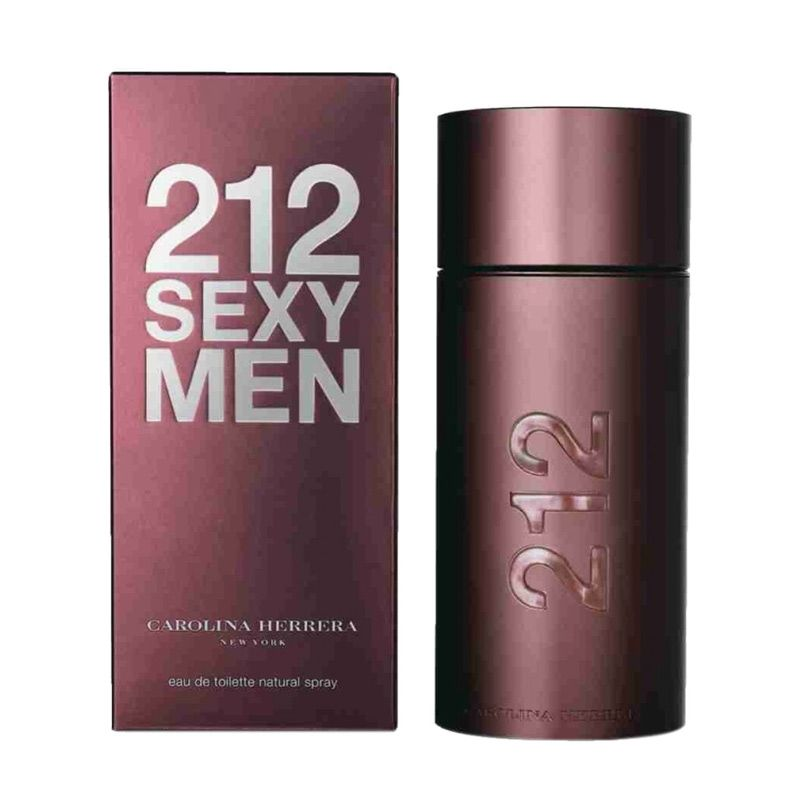 Carolina Hererra 212 Sexy Men EDT Parfum Pria [100 mL]