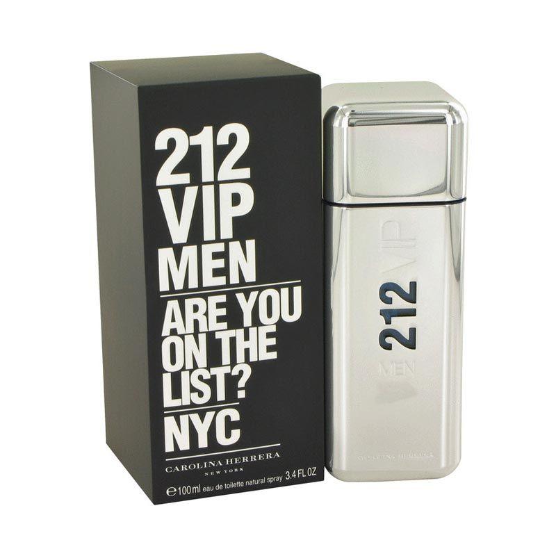 Carolina Hererra 212 VIP EDT Parfum Pria [100 mL]