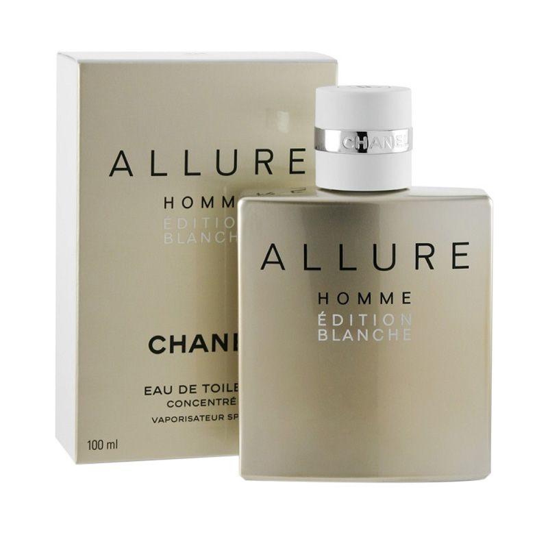 Chanel Allure Homme Edition Blanche EDT Concentree Parfum Pria [100 mL]