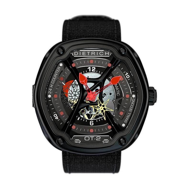 Dietrich Organic Time OT-2 Red Luxury Jam Tangan Unisex