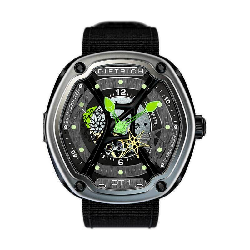 Dietrich OT-1 Green Luxury Jam Tangan Unisex
