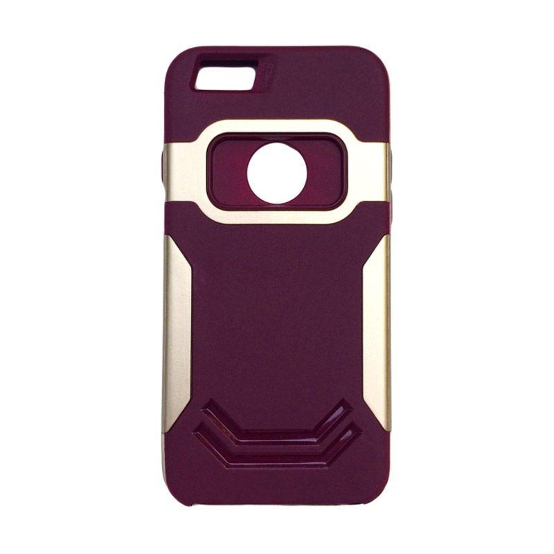 Ingram Iron Man Purple Gold Casing for iPhone 5 or 5s