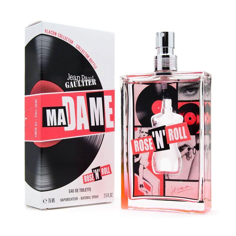 Jean Paul Gaultier Ma Dame Rose n Roll EDT Parfum Wanita [75 mL]