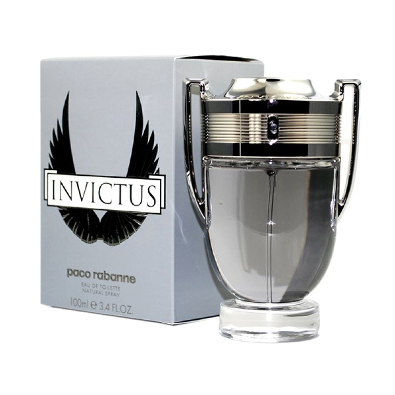 Pacco Rabbane Invictus EDT Parfum Pria [100 mL]