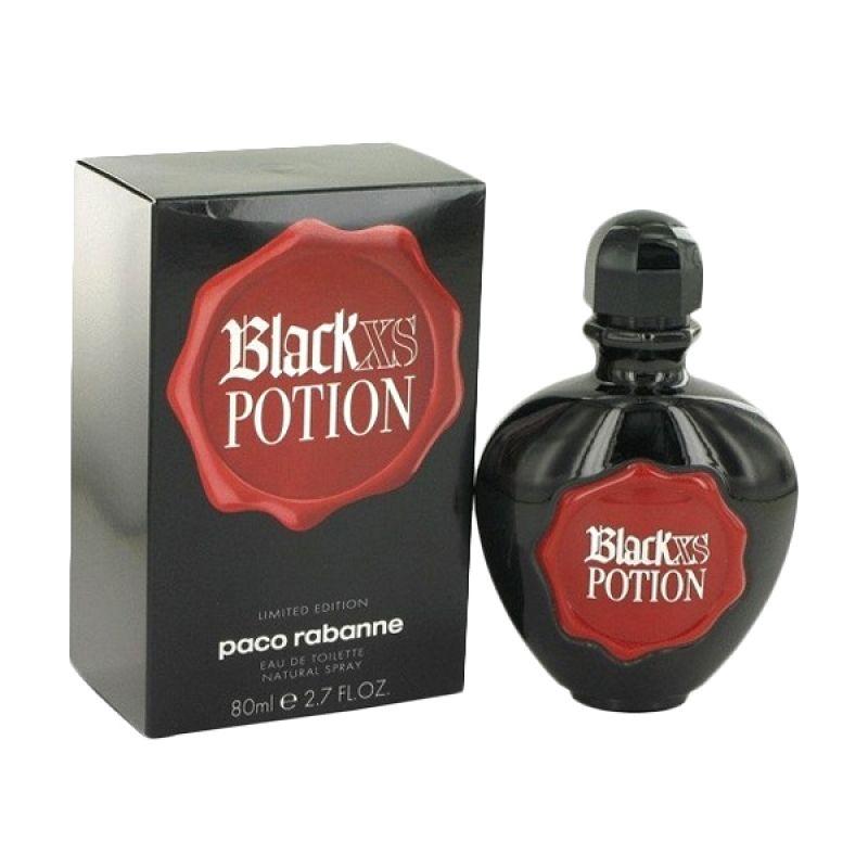 Pacco Rabbane XS Black Potion EDT Parfum Wanita [80 mL]