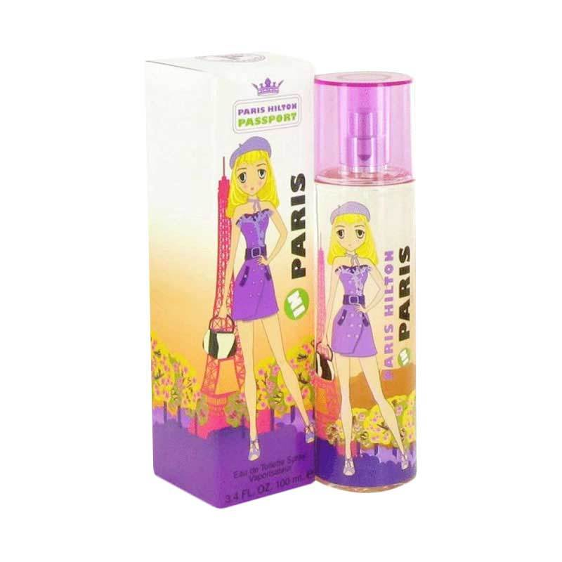 Paris Hilton Passport Paris for Women EDT Parfum Wanita [100 mL]
