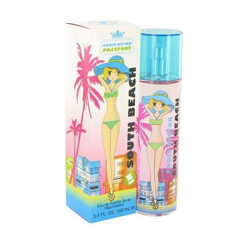 Paris Hilton Passport South of Beach EDT Parfum Wanita [100 mL]