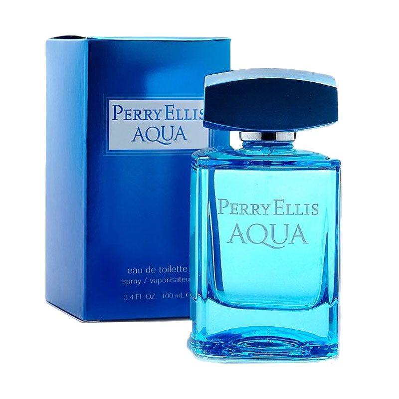 Perry Ellis Aqua EDT Parfum Pria [100 mL]