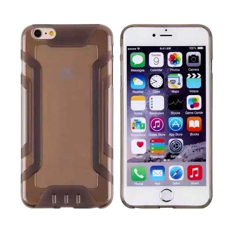 QY Case Silicone Protector Black Casing for iPhone 5 or 5s