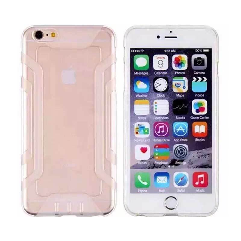 QY Case Silicone Protector Clear Casing for iPhone 5 or 5s