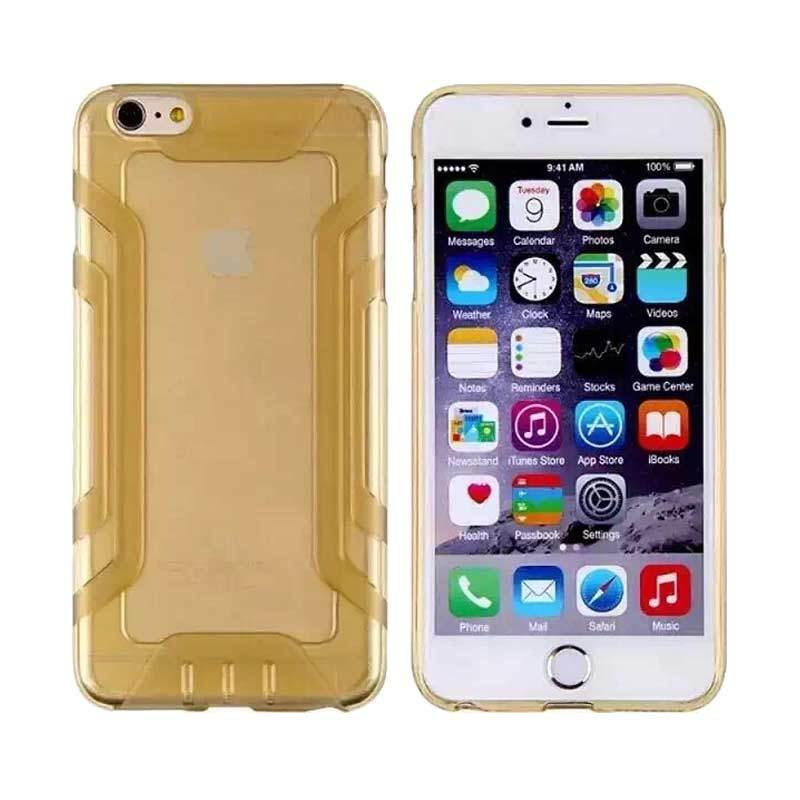 QY Case Silicone Protector Gold Casing for iPhone 5 or 5s