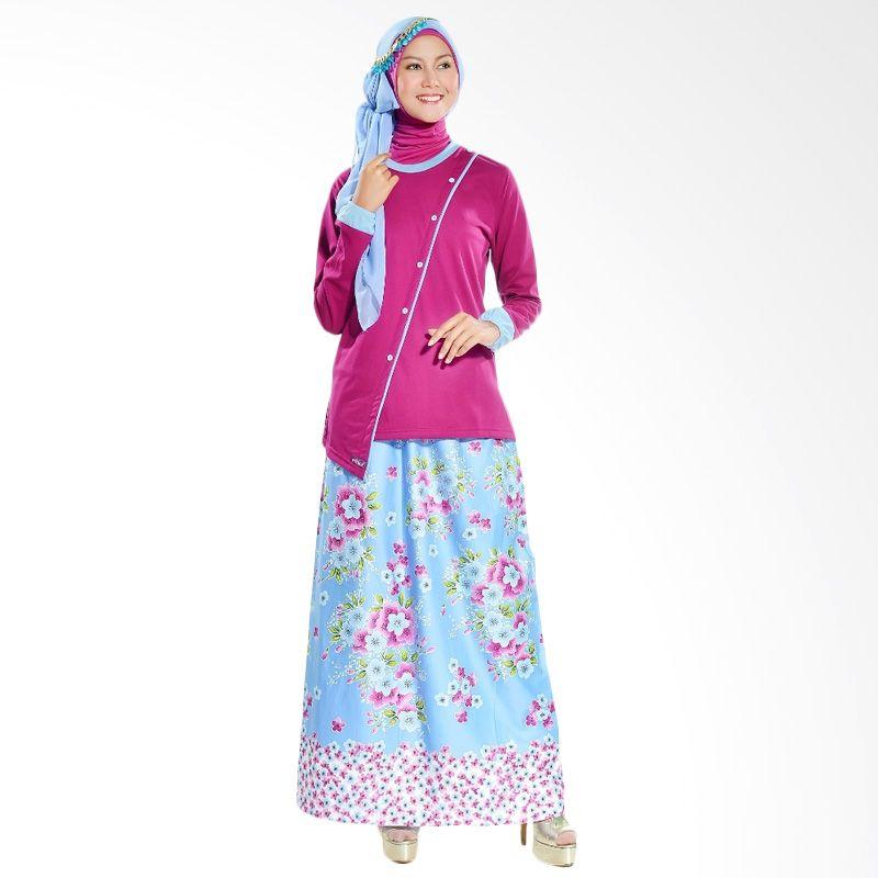Ethica Fashion ST 93 Purple Dress Muslim