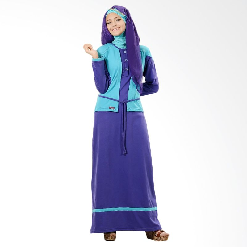 Ethica GCT 21 Ungu Dress Muslim