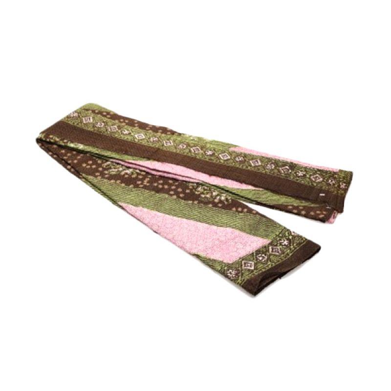 etniKita Batik CRB 080313 Hijau Pink Kain Batik