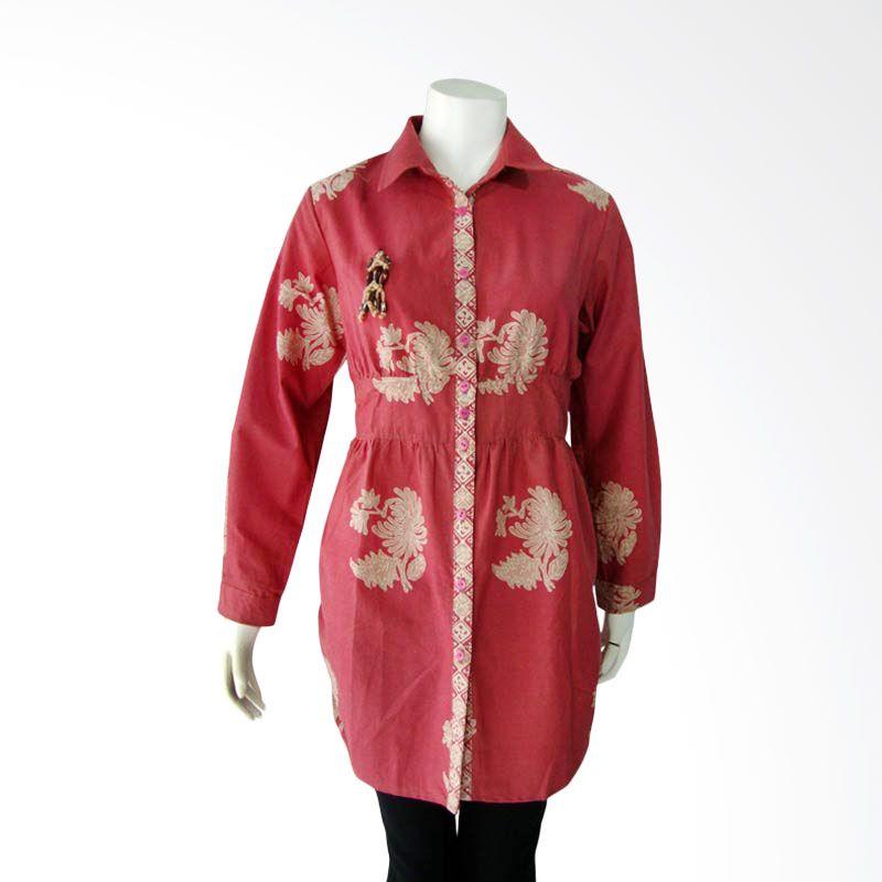etniKita Batik Kemeja Merah 01