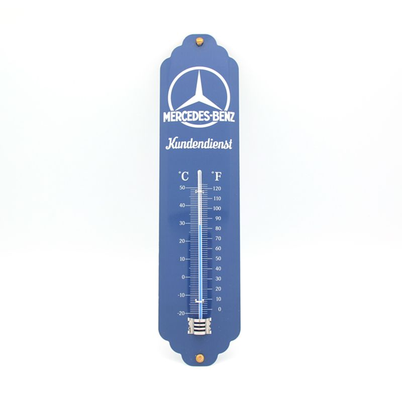 Mercedes Benz Classic Blue Thermometer