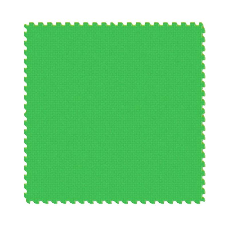 Jual Evamat Polos Hijau Tua Karpet Puzzle 60x60 Cm 4pcs