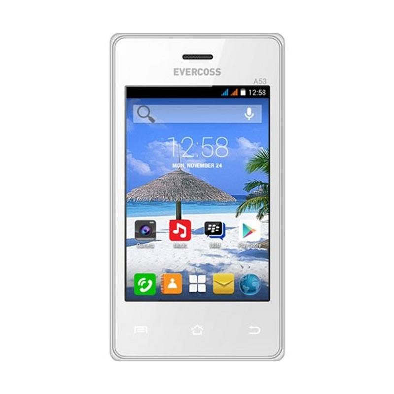 Evercoss A53 Jump Putih Smartphone