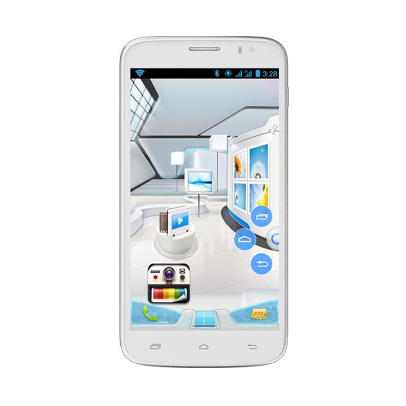 Evercoss A66S Elevate Z Smartphone - Putih [16GB/ 1GB]