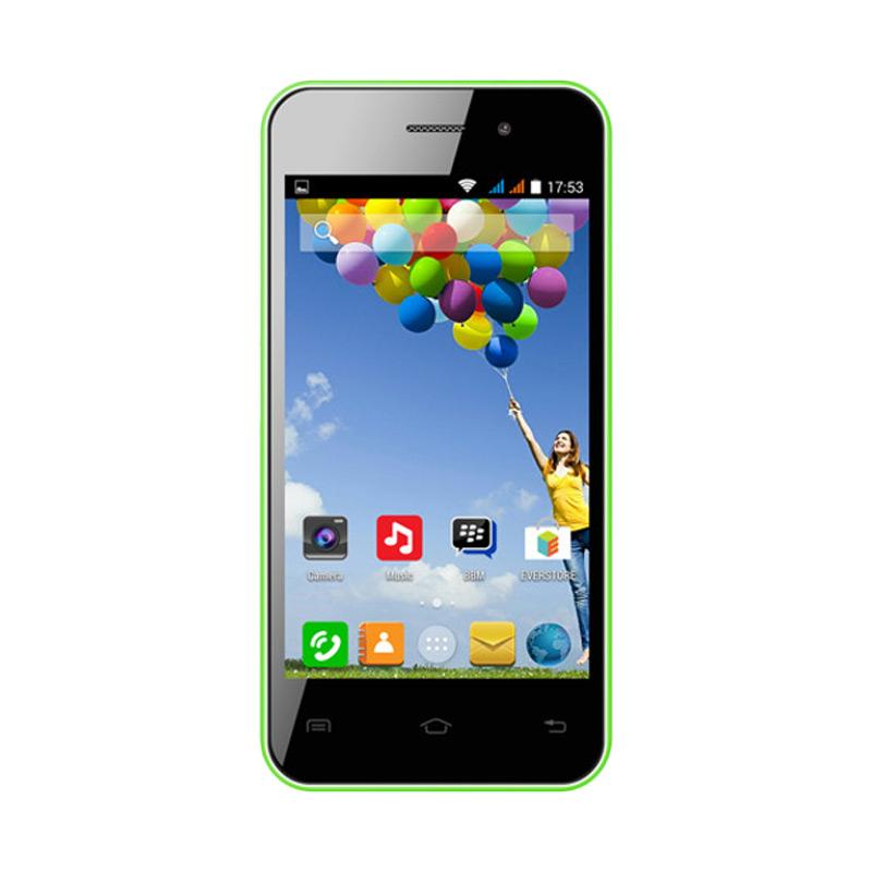 Evercoss A7E Smartphone - Green [4 GB]