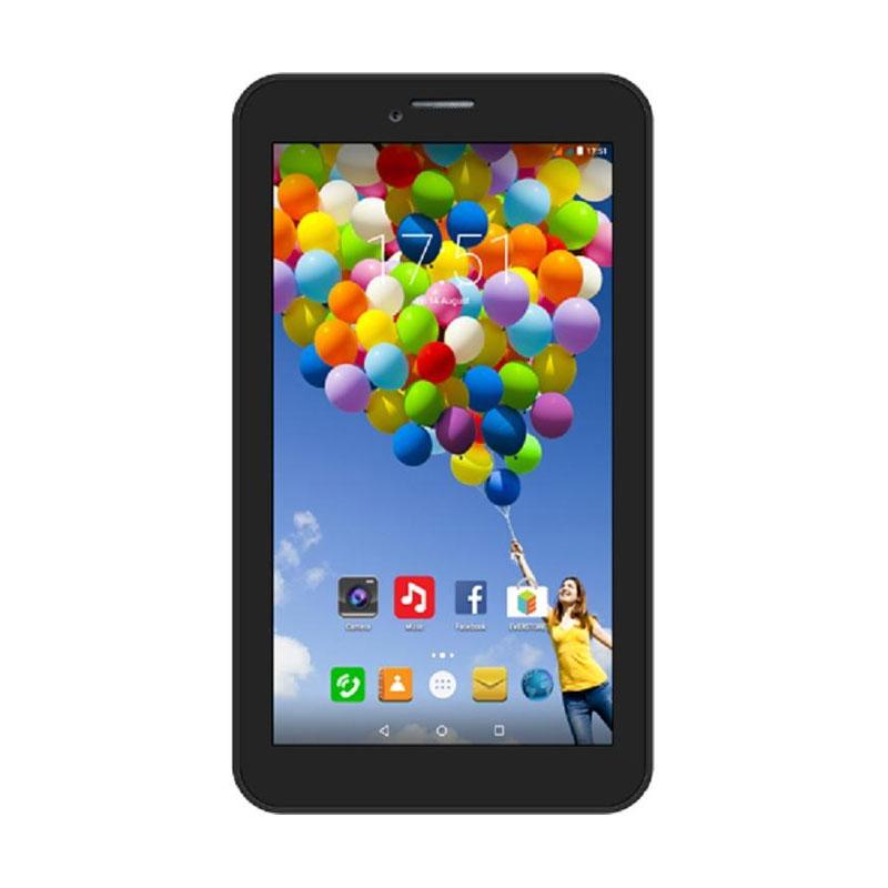Evercoss AT7F Winner S3 Smartphone - Black [8GB/ 1GB]