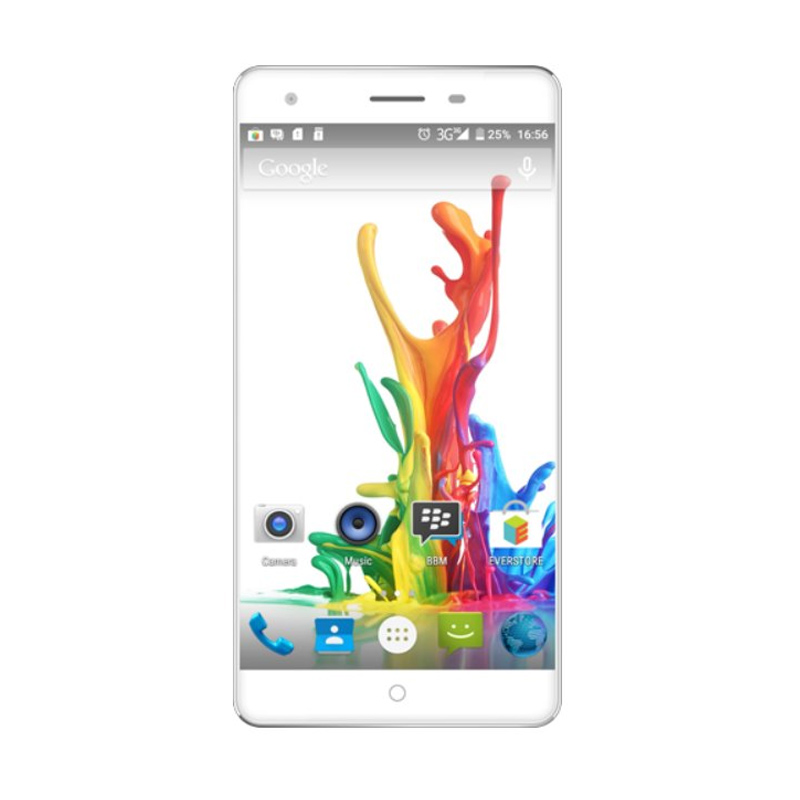Evercoss Elevate Y2 Power S55 Smartphone - Putih [16 GB]