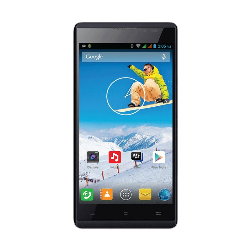 Evercoss Elevate Y2 Smartphone - Black [16 GB]