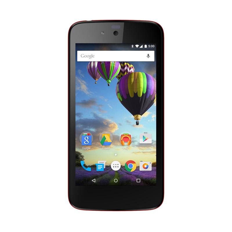 Evercoss One X Smartphone - Merah [8GB]