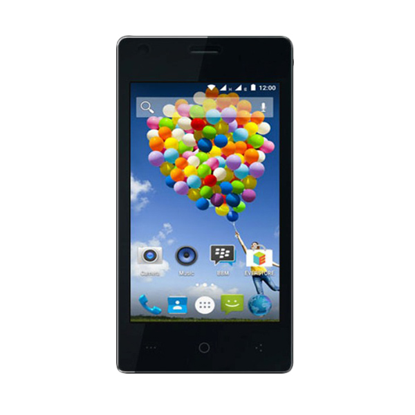 harga Evercoss R40A Winner T Ultra Smartphone - Hitam [16GB/ 2GB] Blibli.com