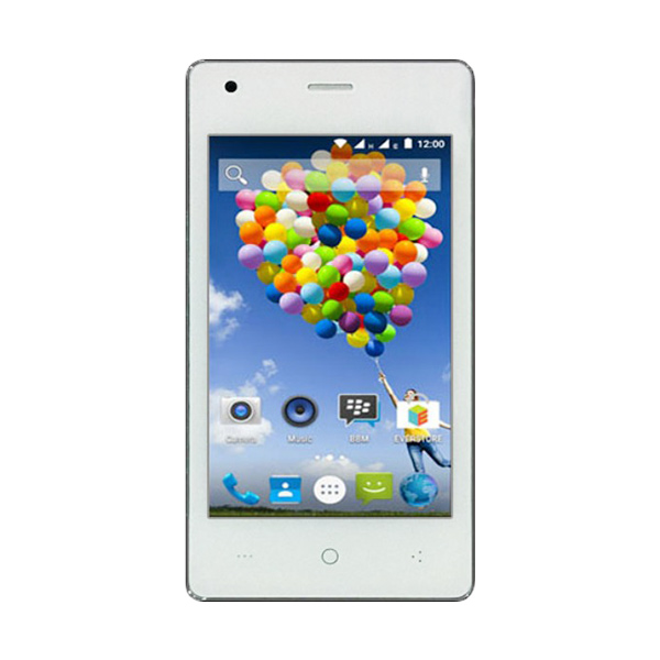 harga Evercoss R40A Winner T Ultra Smartphone - Putih [16GB/ 2GB] Blibli.com