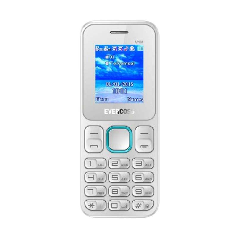 Evercoss V1M Handphone - Putih Biru