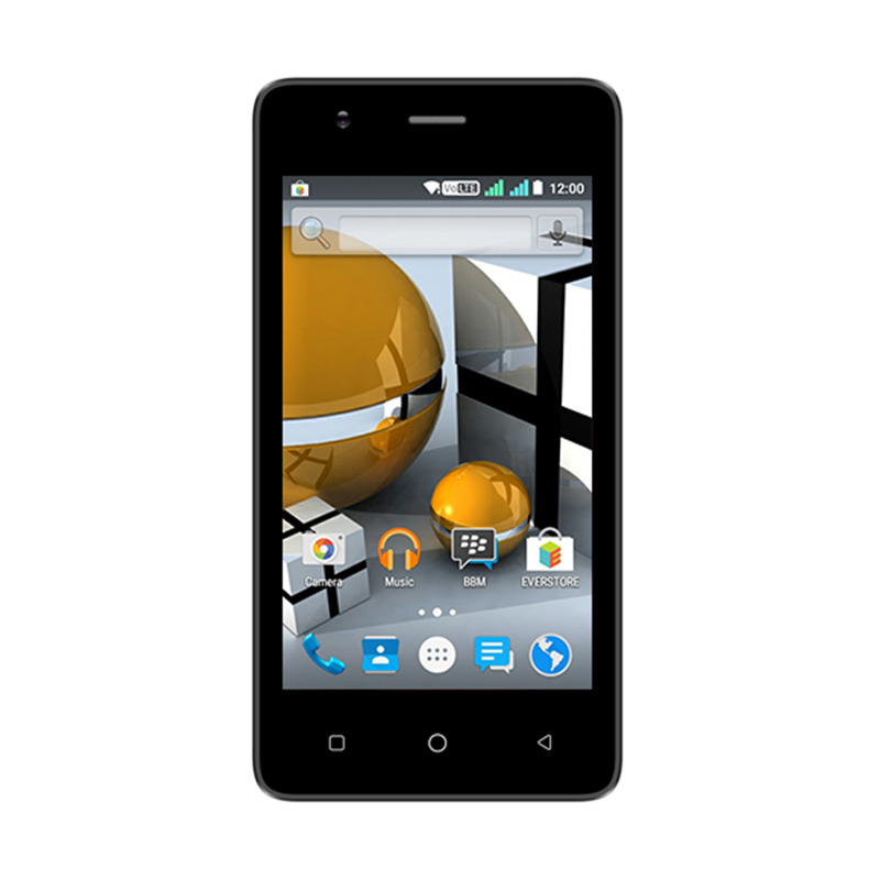 Evercoss Winner T 4G Smartphone - Black