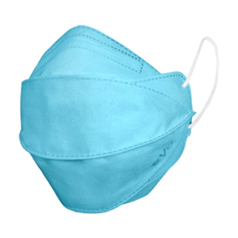 Jual Evo Plusmed Surgical Face Mask 4D Masker Medis - Light Blue ...