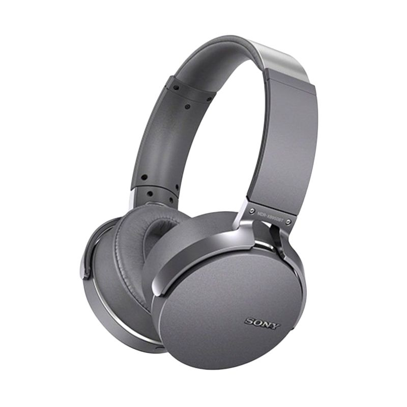 Sony Extra Bass MDR-XB950BT Gray Bluetooth Headset