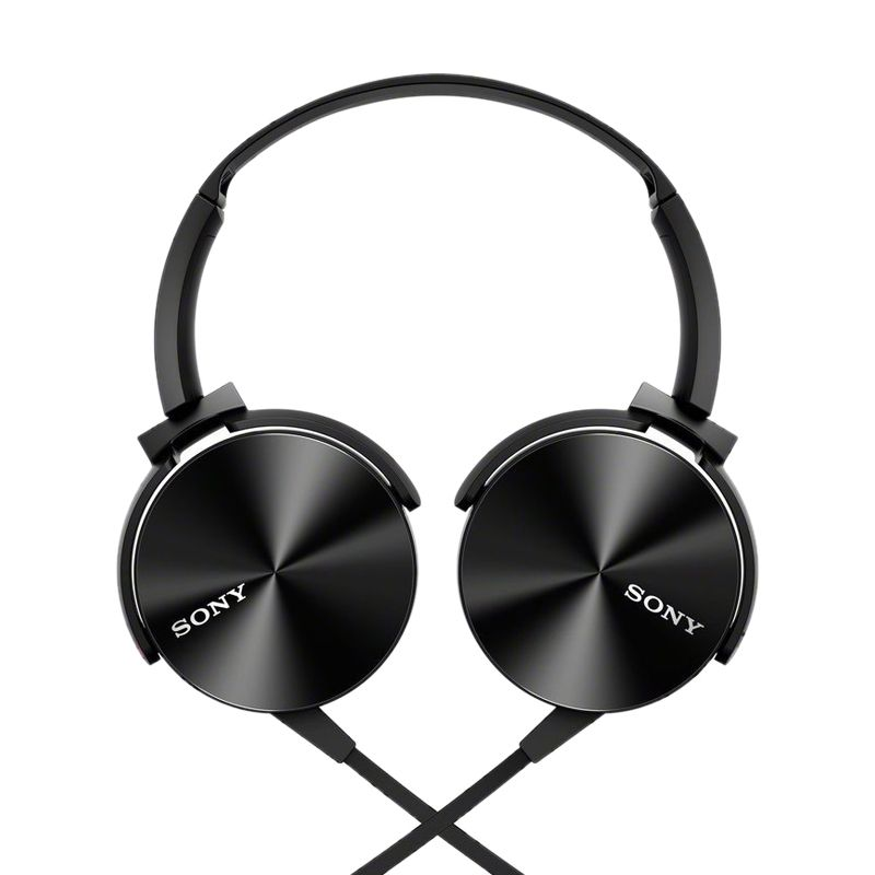 Sony MDR XB-450AP Extra Bass Hitam Headset