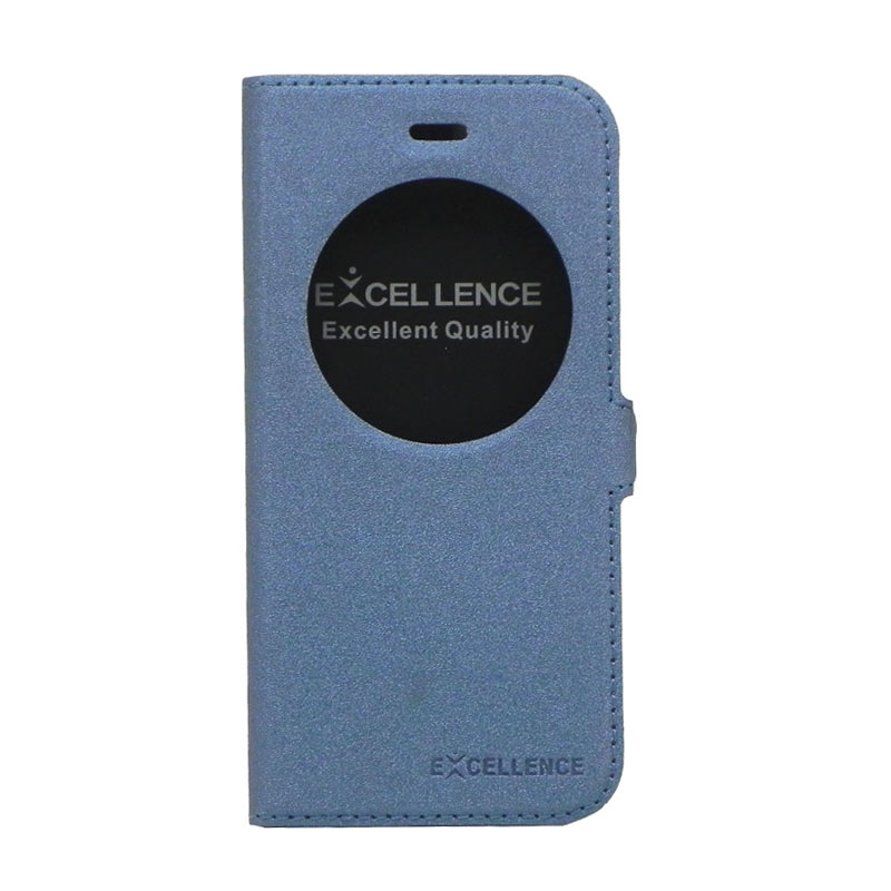 Excellence Eternity Biru Flip Cover Casing for iPhone 6