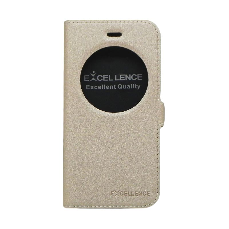 Excellence Eternity Gold Flip Cover Casing for Iphone 6