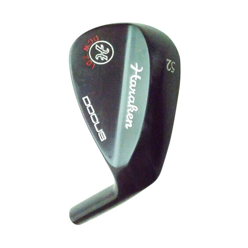DOCUS DCW 701# 52 BK Black Rusty Wedge Head Aksesoris Golf