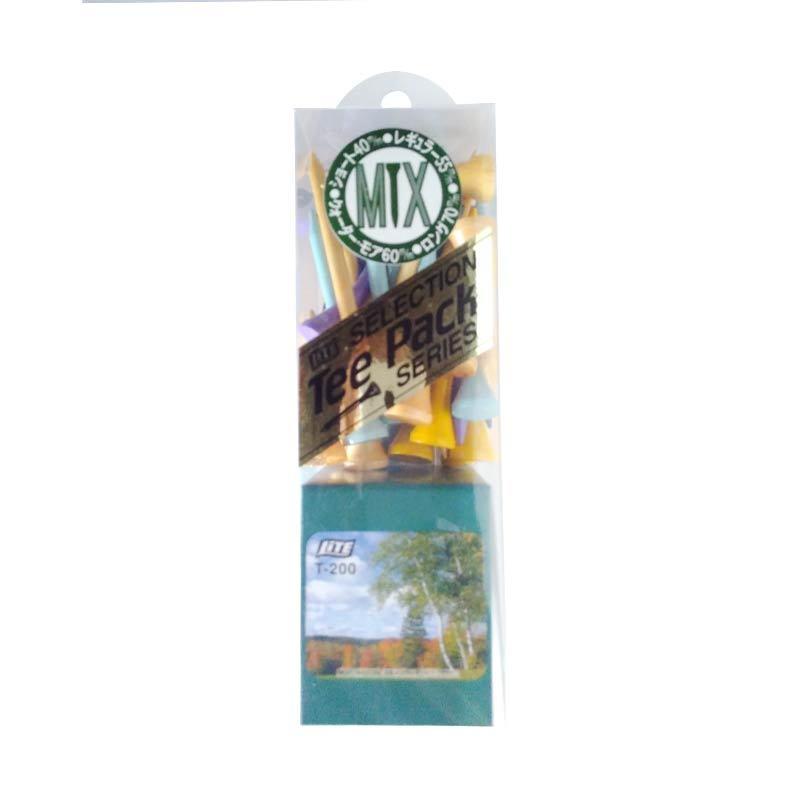 LiTE Tee T 200 Mix Color Aksesoris Golf