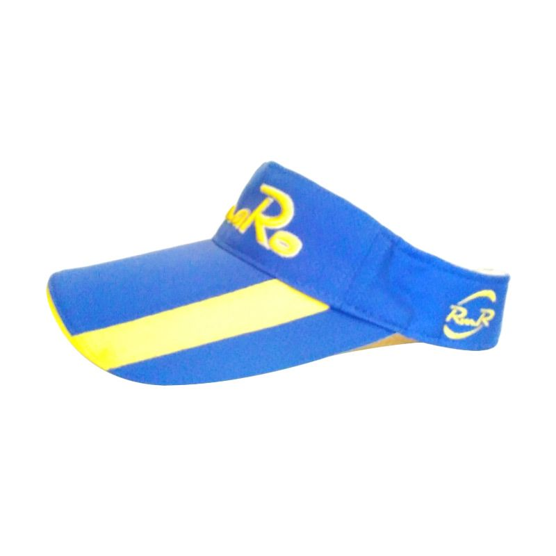 ROMARO Visor BL/YE Blue Yellow Topi Golf
