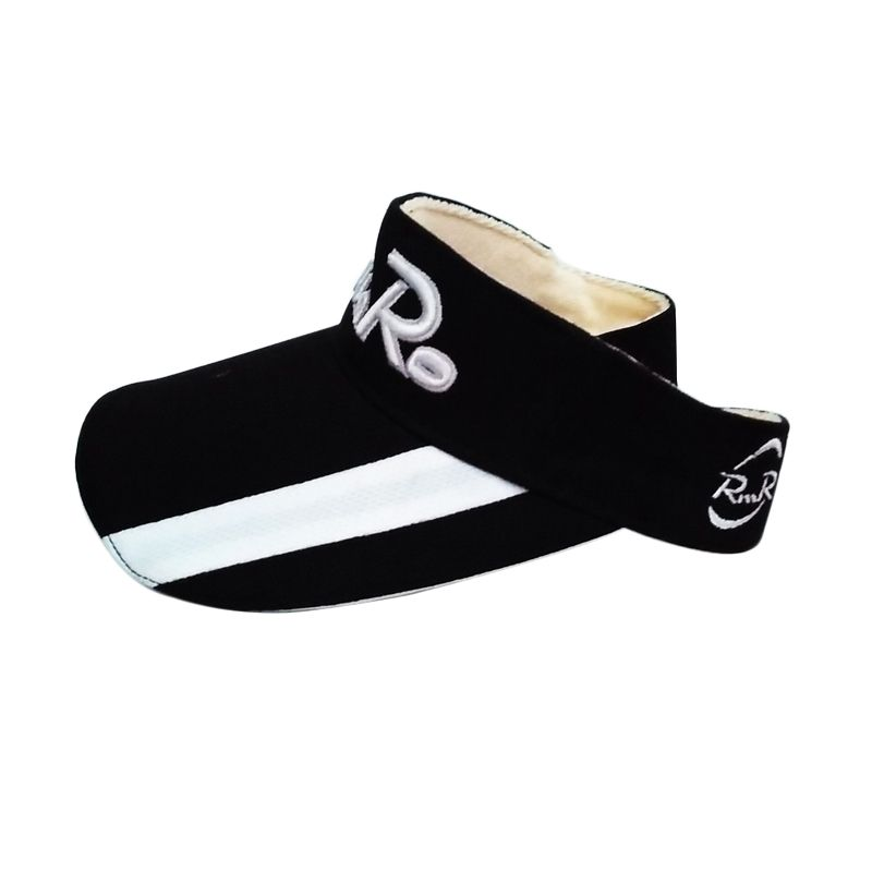 Rekomendasi Seller - ROMARO Visor Black White Aksesoris Golf